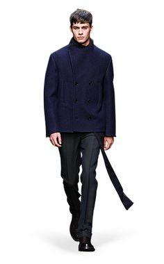 Ermenegildo Zegna Couture: Fall Winter 2014-15 Fashion Show by Stefano Pilati – Look 13
