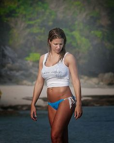 Gemma Atkinson looked amazing in a blue bikini as she wandered the Indonesian Ocean by paddle boarding on Thursday, July 17, 2014 (2 Videos and 40 PHOTOS).