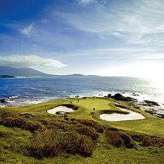 Pebble Beach, California. You can play golf the world over, but seldom will the sea treat you to as dramatic a performance as the one viewed from the Pebble Beach Golf Links.   Coastalliving.com