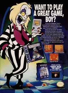 Beetlejuice, Game Boy, LJN, 1992.