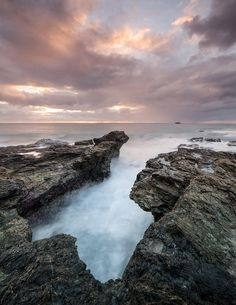 Flagstaff Sunrise, Port Macquarie, Australia by Simon Ward  This was my first trip to this local spot, having just moved to the area I wasn't sure as to what I would find. I arrived at 05:30, first light was at 05:48, I scrambled across the rocks and then I was met with this wonderful rock formation. It was such an easy location to shoot...  https://f11news.com/29/09/2017/flagstaff-sunrise-port-macquarie-australia-by-simon-ward