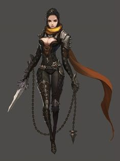 racter concept, john koo : Personal project character concept by john koo on ArtStation. Fantasy Female Warrior, Female Armor, Fantasy Women, Fantasy Girl, Female Character Concept, Fantasy Character Design, Character Design Inspiration, Anime Sexy, Pixar Inside Out