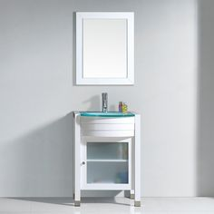Make Photo Gallery The Ava vanity offers modern clean lined sophistication The vanity is constructed from solid