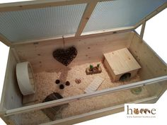Super grande 120x60cm pequeñas mascotas hogar & por HamsterHomesUK