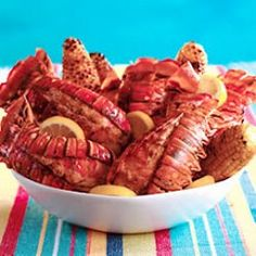 Sick of eating exactly the same Lobster Tail food? Try out a new dish today. Get resourceful with this Grilled Rock Lobster Tails Recipe! Rock Lobster, Lobster Tails, Lobster Party, Lobster Recipes, Seafood Recipes, Great Recipes, Favorite Recipes, Healthy Recipes, Special Recipes