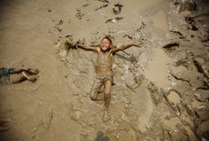Happy in the mud!