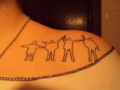 I am officially obsessed with this tattoo <3 different placement of course :)