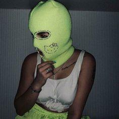 Sister Wallpaper, Bad Girl Wallpaper, Thug Girl, Boy Or Girl, Hood Girls, Gangster Girl, Aesthetic Photography Grunge, Mask Girl, Balaclava