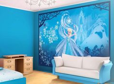 Frozen bedroom on pinterest frozen inspired bedroom disney frozen bedroom and bedrooms for Chambre princesse disney