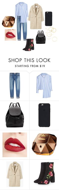 """Нура/Скам"" by dennitsa on Polyvore featuring мода, Frame, Vetements, Witchery, Jouer, Paco Rabanne, Topshop и A.V. Max"