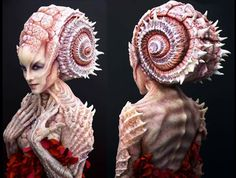 Crazy amazing sea creature makeup!!