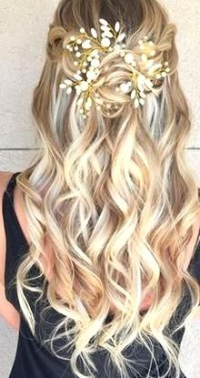 Pin By Aubree Paloma On Quality Pins Braided Hairstyles For Wedding Half Updo Hairstyles Hair Styles