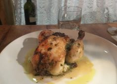 Main course for two at Franco's osteria, Hove