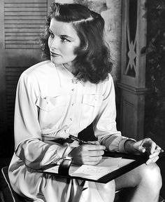 Katharine Hepburn, 1938