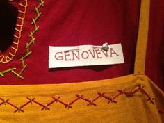 Twill Tape Nametag Tutorial: An Idea for Newcomer-Friendly #SCA Events
