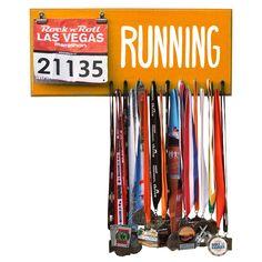 RUNNING Marathon Medal Display, Holder, Hanger