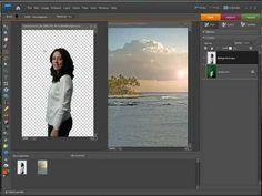 Photoshop Elements Blending Pictures