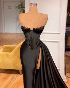 Pretty Prom Dresses, Glam Dresses, Event Dresses, Dance Dresses, Cute Dresses, Fashion Dresses, Formal Dresses, Black Gala Dress, Black Ball Dresses