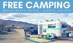After leaving our boondocking site in Ajo, we began theeastward trek back to our hometown in Alabama. Indian Bread Rocks was the perfect place to land for a week – its located right off I-10…