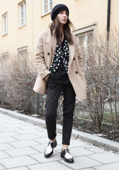 Street style from Stockholm..