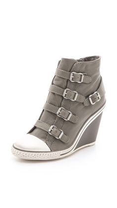 32c4f856a061 Thelma Wedge sneaker by Ash Studded Sneakers