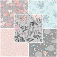 Welcome To The World - Lewis & Irene Fabric | Fat Quarter Pack Three | Empress Mills
