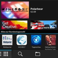 WOW! Polarbear is a featured app in BlackBerry World! :) http://appworld.blackberry.com/webstore/content/20406620/ #app #socialmedia