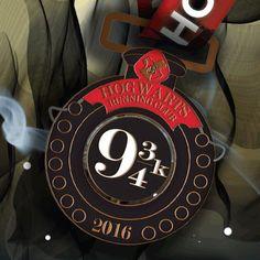 2016 Hogwarts Running Club 9 3/4 Virtual Race - I'M SO EXCITED!!!