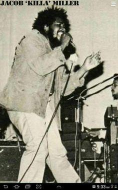 *Jacob Miller* 1976. More fantastic pictures and videos of *Bob Marley & Jacob Miller* on: https://de.pinterest.com/ReggaeHeart/
