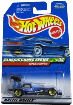Mattel Hot Wheels 1999 1:64 Scale Classic Games Series Blue Super Modified Die Cast Car 1/4 Hot Wheels http://www.amazon.com/dp/B000KAAX6Q/ref=cm_sw_r_pi_dp_G5TNwb0RC0C65