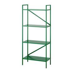 DRAGET Shelf unit - green - IKEA