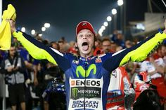 The Doctor lives! Rossi wins the 2015 opener at Qatar.