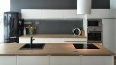 kuchynske linky s ostruvkem bily lesk - Hledat Googlem