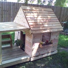 Dog house that my dad built