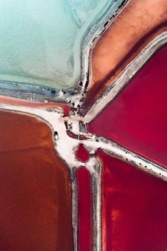 The Salt Series: Abstract Aerial Photography by Tom Hegen