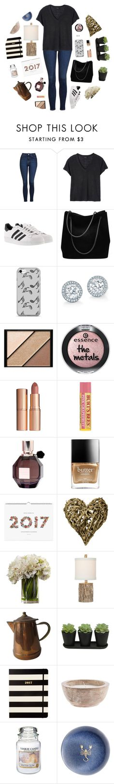 """We'll stick together for life"" by victoria-pittore ❤ liked on Polyvore featuring Topshop, Deby Debo, adidas, Gucci, Music Notes, Elizabeth Arden, Charlotte Tilbury, Viktor & Rolf, Butter London and Rifle Paper Co"