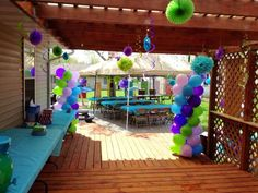 Monster's Inc Birthday Party Ideas | Photo 34 of 36 | Catch My Party