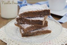 Nutella brownies velocissimi con soli 3 ingredienti