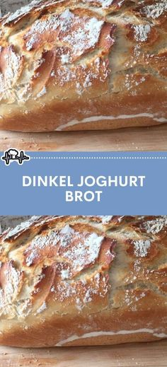 Dinkel Joghurt Brot – Die Küche Easy Cake Recipes, Bread Recipes, Yogurt Bread, Rosemary Simple Syrup, Healthy Appetizers, Pampered Chef, Yummy Drinks, Chocolate Recipes, Chocolate Cake