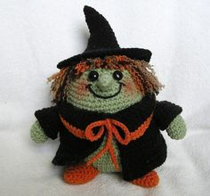 PUDGY WITCH PDF Crochet Pattern by bvoe668 on Etsy, $5.00