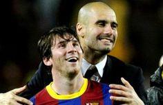 Ketika Pep Guardiola Duel Lawan Lionel Messi dkk