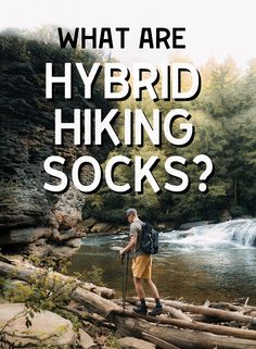 Hybrid-Hiking socks are a blend of fabrics and features between a traditional wool hiking sock and a comfortable everyday sock. Wildly Good Socks combined our favorite features from completely different sock types to create this custom sock that could be worn anywhere between the office and the mountains.