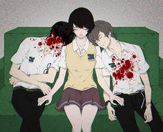 Nine (Kokonoe Arata), Mishima Lisa & Twelve (Hisami Touji) #2