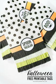 Halloween Free Printable Tags