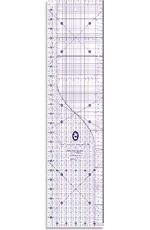 """Patchwork fabric ruler: 6"""" x 24"""" universal ruler from Marti Mitchell. Would be handy! £16.95"""