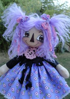 Lavender Annie Doll E Pattern ❤❤❤