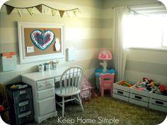 Keep Home Simple: The Playroom