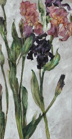 Iris by Claire Basler (French 1960).