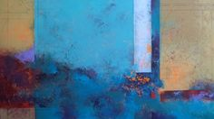 Where Earth Meets Water by Nancy Eckels - abstract, contemporary, modern art, painting -- Nancy Eckels