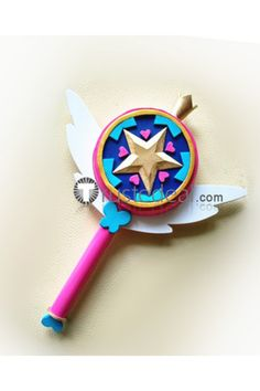 Star vs. the Forces of Evil Princess Star Butterfly #Wand Cosplay #props